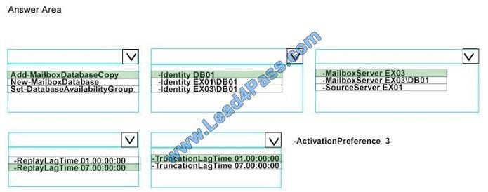 lead4pass 70-345 exam question q11-1