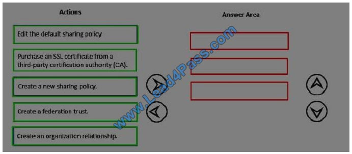 lead4pass 70-345 exam question q7