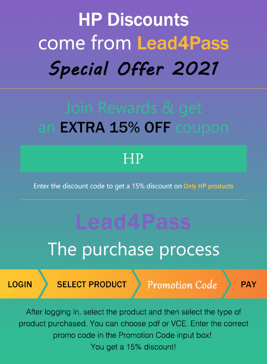 hp exam certification coupon code